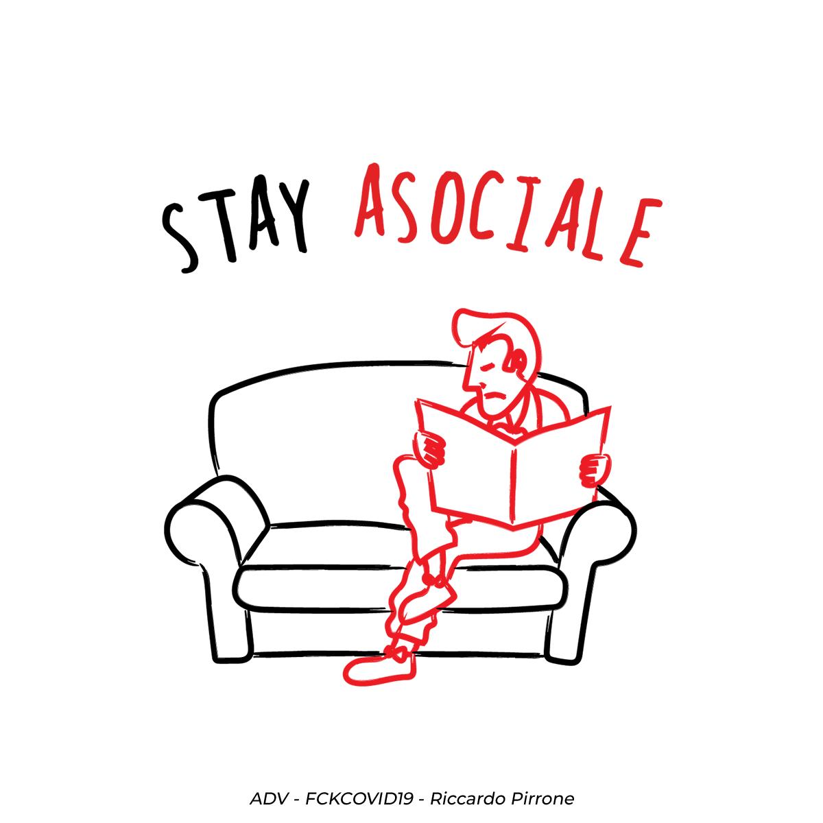 stay asociale